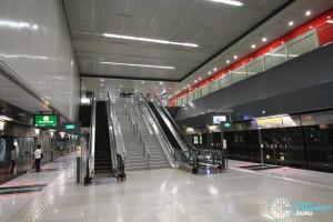Telok Blangah MRT Station - Platform level