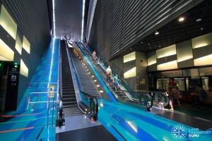 Stadium MRT Station - Platform level