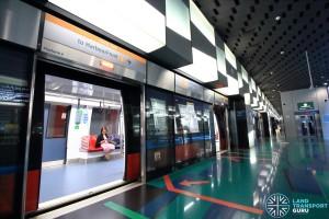 Stadium MRT Station - Platform A