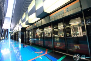 Stadium MRT Station - Platform B