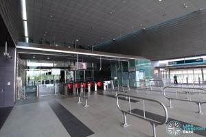 Stadium MRT Station - Faregates (East Exit)