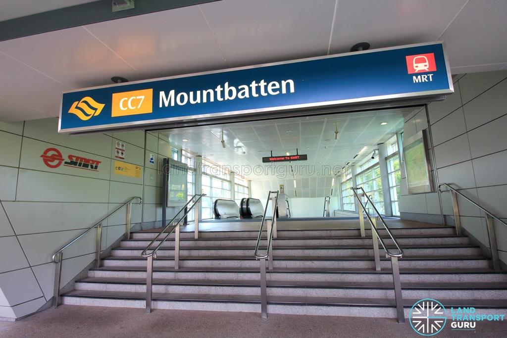 Mountbatten MRT Station  Land Transport Guru