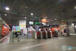 CCL Concourse (South end faregates)