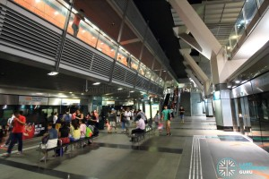 Paya Lebar MRT Station - CCL Platform level (Platforms A & C)