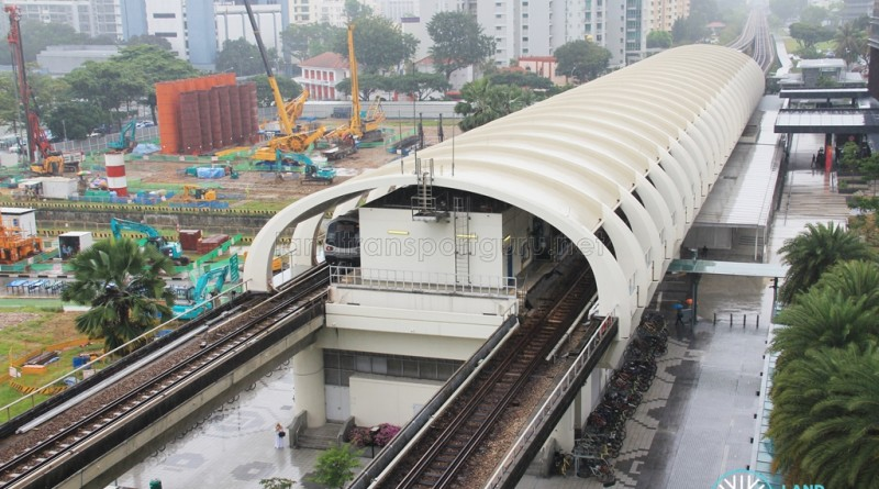 Paya Lebar MRT Station - Aerial view