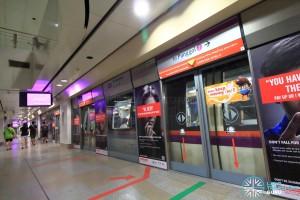 Serangoon MRT Station - NEL Platform B