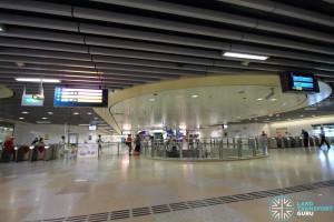 Serangoon MRT Station - NEL Concourse & Faregates