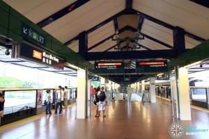 Choa Chu Kang MRT/LRT Station - NSL Platform level