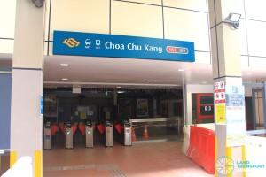 Choa Chu Kang MRT/LRT Station - Exit E