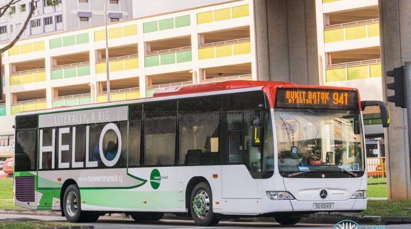 Tower Transit Mercedes-Benz Citaro (SG1004X) - Service 941