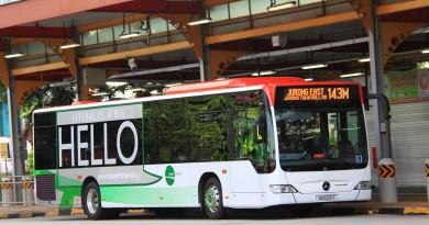 Tower Transit Mercedes-Benz Citaro (SG1005T) - Service 143M