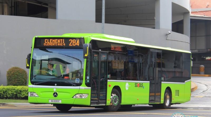 Tower Transit Mercedes-Benz Citaro (SG1010C) - Service 284