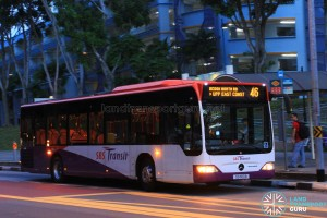 SBST Mercedes-Benz O530 Citaro (SG1100B) - Service 46