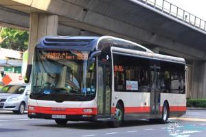 Tower Transit MAN A22 (SMB3039E) - Service 106A