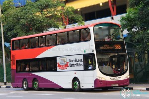 Tower Transit Volvo B9TL Wright (SBS3338H) - Service 98B