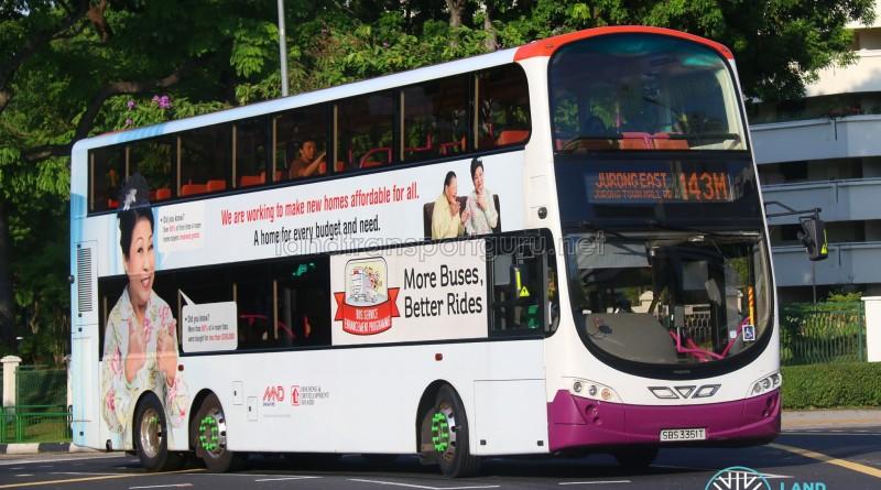 Tower Transit Volvo B9TL (SBS3351T) - Service 143M