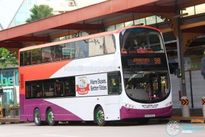 Tower Transit Volvo B9TL Wright (SBS3368X) - Service 98