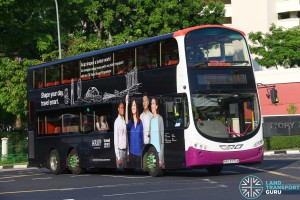 Tower Transit Volvo B9TL (SBS3375A) - Service 143
