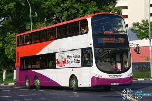 Tower Transit Volvo B9TL (SBS3381G) - Service 79