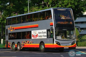 Tower Transit Alexander Dennis Enviro500 (SMB3512E) - Service 78
