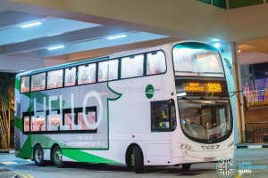 Tower Transit Volvo B9TL (SG5003Y) - Service 189A
