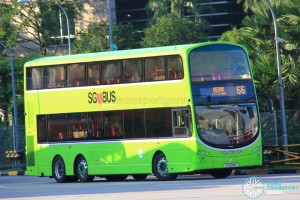 Tower Transit Volvo B9TL (SG5018E) - Service 66