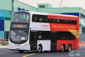 SG5056U on the Shuttle route