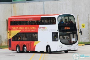 SG5057S on the Shuttle route