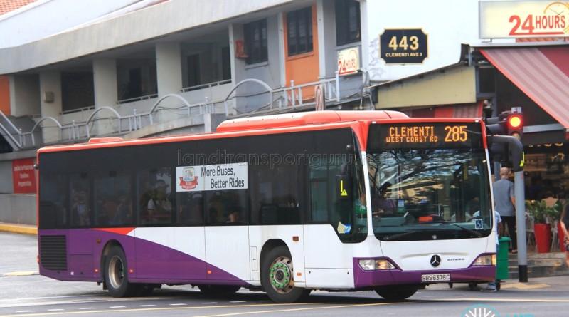 Tower Transit Mercedes-Benz Citaro (SBS6376C) - Service 285