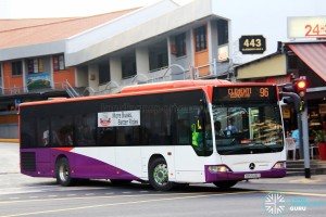 Tower Transit Mercedes-Benz Citaro (SBS6416X) - Service 96