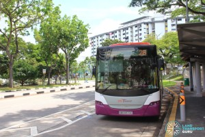 SBS Transit Scania K230UB (SBS8370E) - Service 26 at Chai Chee Estate