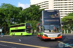 Tower Transit Alexander Dennis Enviro500 & Volvo B9TL