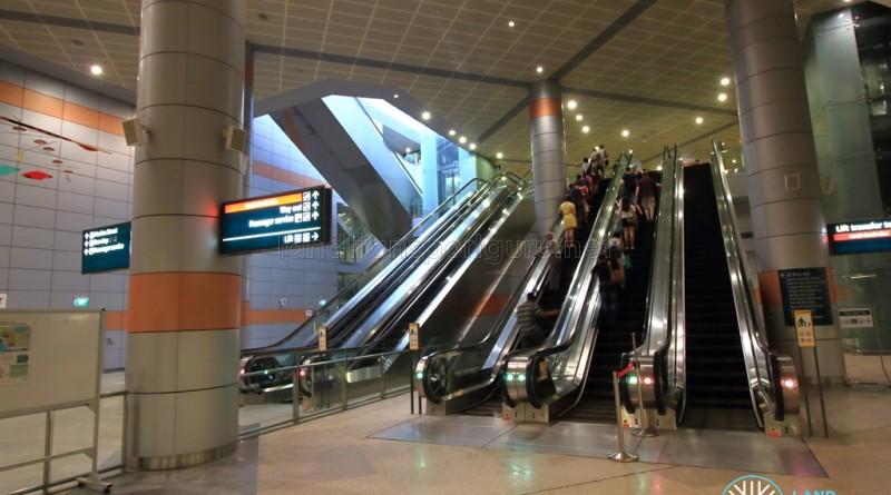 Transfer Hall escalators