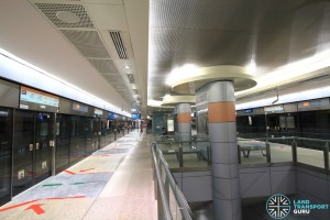 Marina Bay MRT Station - CCL Platform level