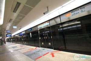 Marina Bay MRT Station - CCL Platform B