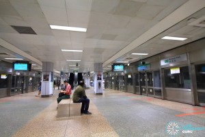 Outram Park MRT Station - EWL Platform