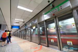 Outram Park MRT Station - EWL Platform A