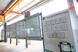 Tower Transit Information Boards and Guide Rack