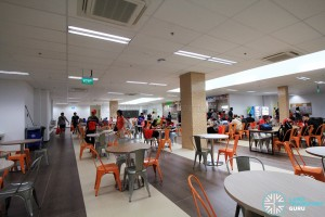 Canteen eating area