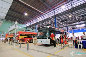Static display buses