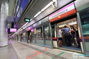 Potong Pasir MRT Station - Platform A