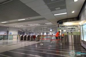 Potong Pasir MRT Station - Passenger Service Centre & Faregates