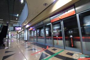 Woodleigh MRT Station - Platform A