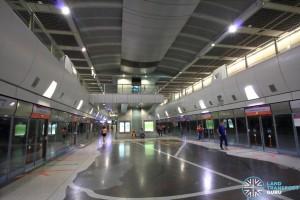 Kovan MRT Station - Platform level