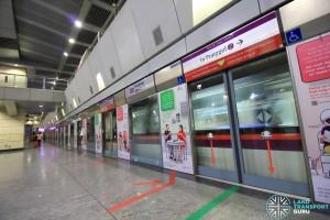Hougang MRT Station - Platform B
