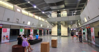 Hougang MRT Station - Platform level