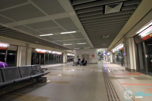 Buangkok MRT Station - Platform level