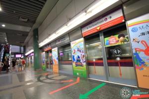 Sengkang MRT/LRT Station - NEL Platform A