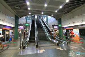 Sengkang MRT/LRT Station - NEL Platform level