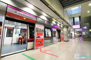 Punggol MRT/LRT Station - NEL Platform B